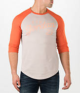 Men's Air Jordan Raglan Three-Quarter Sleeve T-Shirt