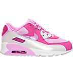 Girls' Preschool Nike Air Max 90 Mesh Running Shoes