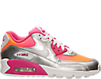 Girls' Grade School Nike Air Max 90 Premium Running Shoes