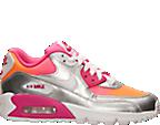 Girls' Grade School Nike Air Max 90 Premium Running Shoes