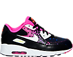 Girls' Preschool Nike Air Max 90 Premium Running Shoes