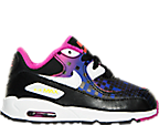 Girls' Toddler Nike Air Max 90 Premium Mesh Running Shoes