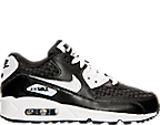 Boys' Grade School Nike Air Max 90 Premium Leather Running Shoes