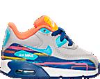 Boys' Toddler Nike Air Max 90 Premium Mesh Running Shoes