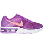 Girls' Grade School Nike Air Max Sequent Running Shoes