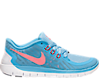 Girls' Grade School Nike Free 5.0 Running Shoes