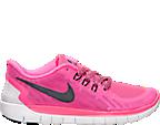 Girls' Grade School Nike Free 5.0 Running Shoes