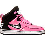Girls' Grade School Nike First Flight (3.5y-9.5y) Basketball Shoes