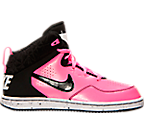 Girls' Preschool Nike First Flight Basketball Shoes