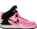 Girls' Preschool Nike First Flight Basketball Shoes