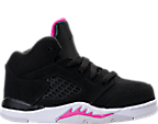 Girls' Toddler Jordan Retro 5 Basketball Shoes