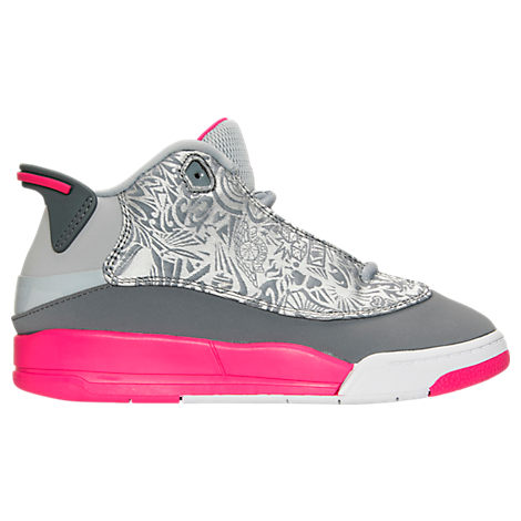Girls' Preschool Jordan Dub Zero Basketball Shoes