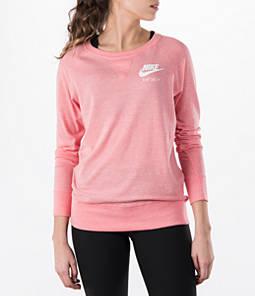 Women's Nike Gym Vintage Crew Shirt Product Image