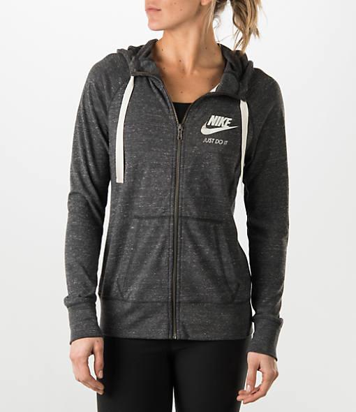 nike women's vintage full zip hoodie   Spin Creative