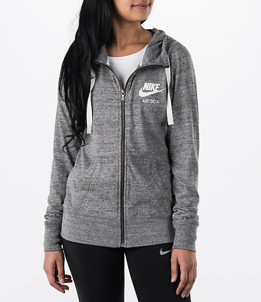 Women's Nike Gym Vintage Full-Zip Hoodie| Finish Line