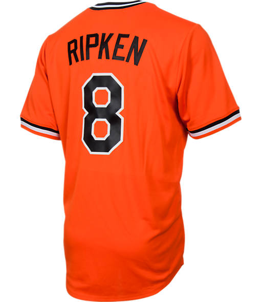 Men's Majestic Baltimore Orioles MLB Cal Ripken Throwback Jersey