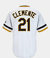 Men's Majestic Pittsburgh Pirates MLB Roberto Clemente Throwback Jersey