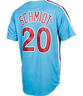 Men's Majestic Philadelphia Phillies MLB Mike Schmidt Throwback Jersey