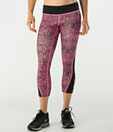 Women's Nike Racer Leopard Printed Crop Training Tights