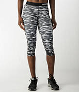 Women's Nike Pro Haze Compression Capri Leggings