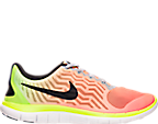 Women's Nike Free 4.0 V5 Print Running Shoes