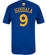 Men's adidas Golden State Warriors NBA Andre Iguodala Name and Number T-Shirt