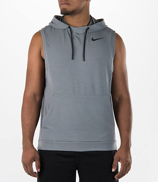 Men's Nike Dry Sleeveless Training Hoodie