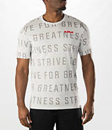 Men's Nike LeBron Strive All-Over Print T-Shirt
