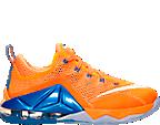 Boys' Grade School Lebron 12 Low Basketball Shoes