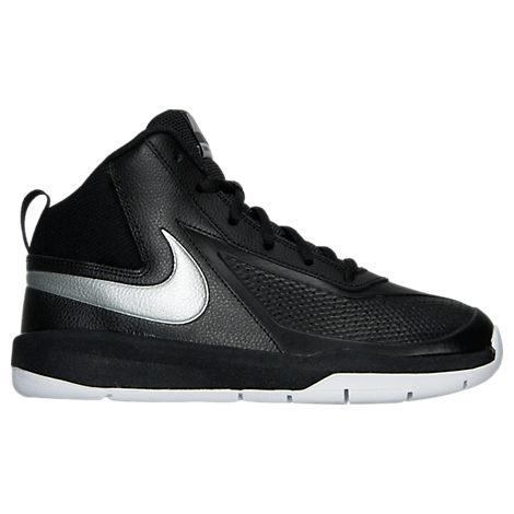 Boys' Grade School Nike Team Hustle D 7 Low Basketball Shoes