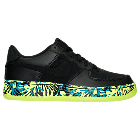 Boys' Grade School Nike Air Force 1 Premium Casual Shoes