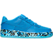 Right view of Boys' Grade School Nike Air Force 1 Premium Casual Shoes in Photo Blue/Gamma Blue