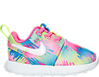 Girls' Toddler Nike Roshe One Print Casual Shoes