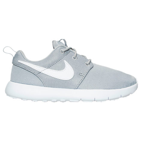 2d83d0825ce All Black Nike roshe all black with white swoosh Low Top