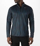Men's Nike AOP Racer Half-Zip Training Shirt