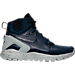 Right view of Men's Nike Mobb Ultra High Boots in Obsidian/Black/Matte Silver