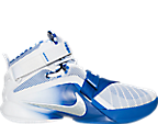 Men's Nike LeBron Soldier 9 Kentucky Basketball Shoes