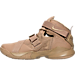Left view of Men's LeBron Soldier 9 PRM Basketball Shoes in Desert Camo/Desert Camo/String