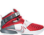 Men's Nike LeBron Soldier 9 Ohio State Basketball Shoes