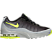 Right view of Boys' Grade School Nike Air Max Invigor Running Shoes in Wolf Grey/Volt/Black