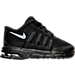 Right view of Boys' Toddler Nike Air Max Invigor Running Shoes in Black/Wolf Grey