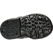Bottom view of Boys' Toddler Nike Air Max Invigor Running Shoes in Black/Wolf Grey