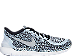 Women's Nike Free 5.0 Print Running Shoes