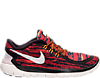 Boys' Grade School Nike Free 5.0 Print Running Shoes