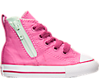 Girls' Toddler Converse Chuck Taylor Hi Side Zip Casual Shoes