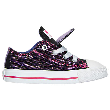 Girls' Toddler Converse Chuck Taylor All Star Double Tongue Casual Shoes