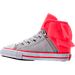 Left view of Girls' Toddlers Converse Block Party Casual Shoes in Pink/Grey