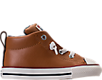 Boys' Toddler Converse Chuck Taylor All-Star Street Leather Casual Shoes