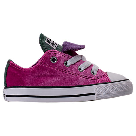 Girls' Toddler Converse Chuck Taylor All Star Velvet Double Tongue Casual Shoes