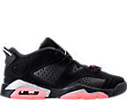 Girls' Grade School Air Jordan Retro 6 Low (3.5y-9.5y) Basketball Shoes